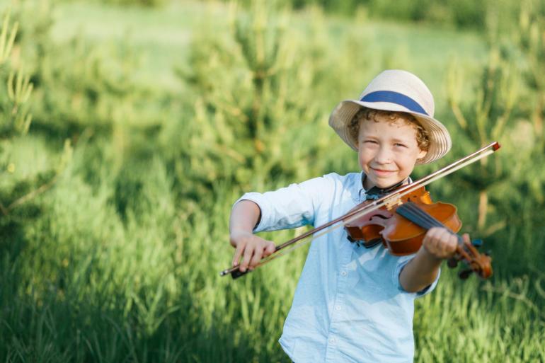 Consejos para enseñar música a los niños