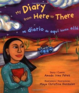 MY DIARY FROM HERE TO THERE libro bilingue