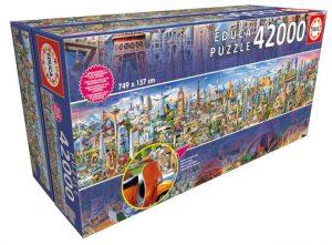 educa puzzle mas grande del mundo