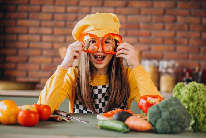 formas divertidas de hacer que tus hijos coman verduras