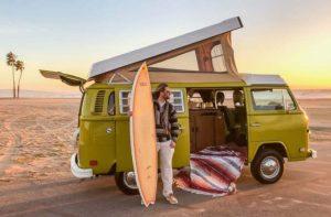 furgoneta camper para surf