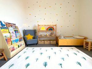 habitación Montessori diseño