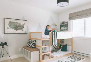 habitacion niño cama litera