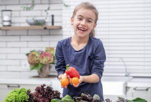 incorporar las verduras a la dieta infantil