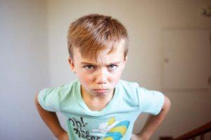 lidiar con un niños complicado