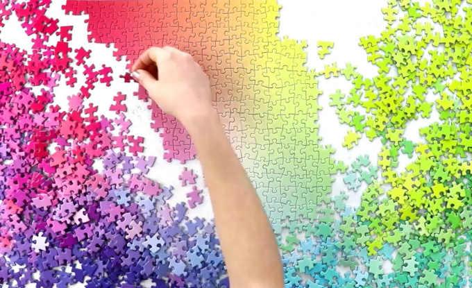 los mejores puzzles gradient