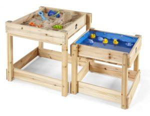 mesa de arena y agua