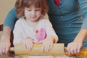 participación de los niños en la cocina
