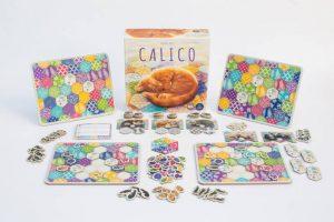reseña juego de mesa Calico