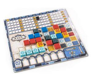 tablero juego azul