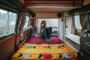 viajar en furgoneta camperizada