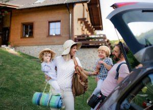 viaje en carretera con niños