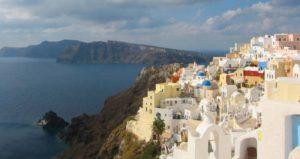 visita a isla griega santorini