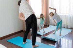 yoga divertido para niños
